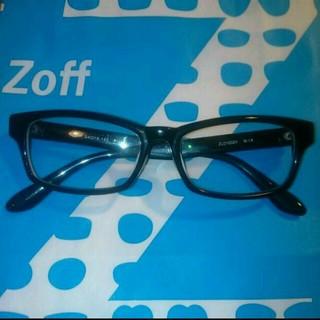 ゾフ(Zoff)の【Zoffゾフ購入 度あり黒ぶちメガネ】(サングラス/メガネ)