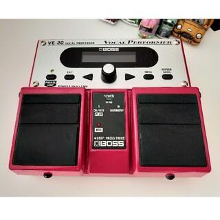 BOSS VE-20 vocal processor(エフェクター)