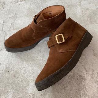 サンダース(SANDERS)のSanders サンダース ベルテッド チャッカブーツ シングル モンク ブーツ(ブーツ)
