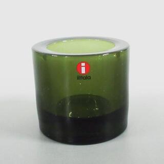 マリメッコ(marimekko)のマリメッコ 小物美品  - カーキ ガラス(その他)