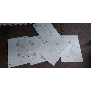 ダイハツ(ダイハツ)のDAIHATSU ペーパークラフトセット(模型/プラモデル)