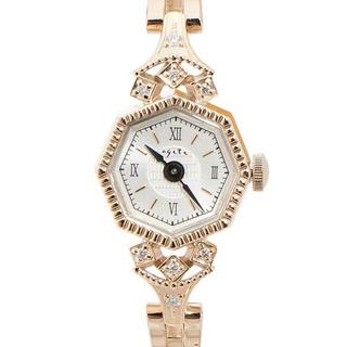 アガット(agete)のagete アガット オクタゴンフェイスウォッチ K10(腕時計)