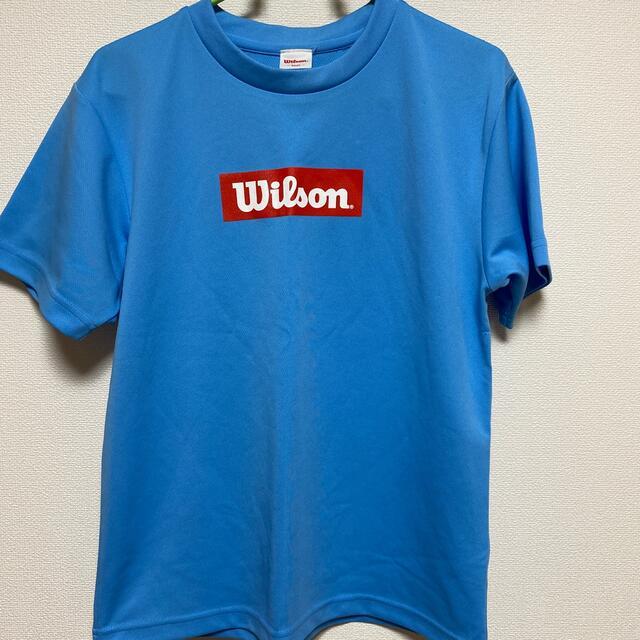 wilson(ウィルソン)のWilson Tシャツ ウェア値下げしました。 スポーツ/アウトドアのスポーツ/アウトドア その他(バドミントン)の商品写真