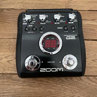 ズーム(Zoom)のzoom ギター エフェクター(エフェクター)