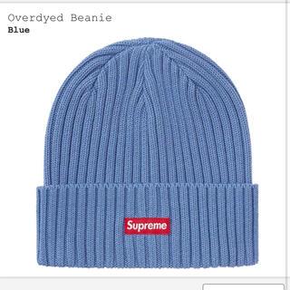 """シュプリーム(Supreme)のSupreme Overdyed Beanie """"Blue""""(ニット帽/ビーニー)"""