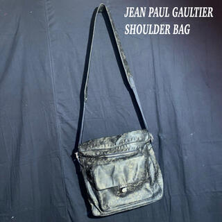ジャンポールゴルチエ(Jean-Paul GAULTIER)のJEAN PAUL GAULTIER ムラ 加工 スクエア ショルダー バッグ(ショルダーバッグ)