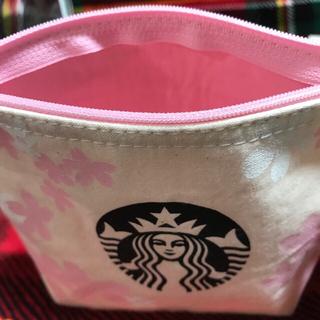 Starbucks Coffee - スターバックス  さくら ポーチ ハンドメイド