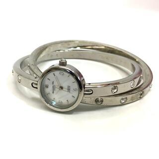 アレッサンドラオーラ(ALESSANdRA OLLA)のアレッサンドラオーラ クオーツ バングルウォッチ 腕時計 SS シルバー(腕時計)