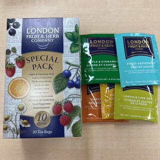 LONDON FRUIT&HERB COMPANY ハーブティー 5袋セット(茶)
