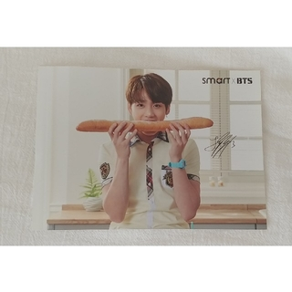 BTS × smart フォトカード ジョングク(アイドルグッズ)