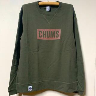 チャムス(CHUMS)の新品 CHUMS Logo Crew Top チャムス メンズ khxl(スウェット)