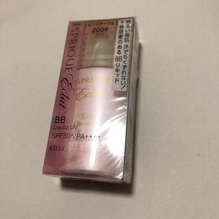 コーセー(KOSE)のエスプリーク エクラ 明るさ持続 BB リキッド UV PO205e ピンクオー(ファンデーション)