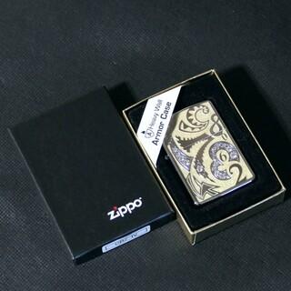 ジッポー(ZIPPO)のzippo Armor 2004年製【CRAZY DIAL】ホワイトカラー(タバコグッズ)