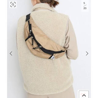 DEUXIEME CLASSE - 美品 ドゥーズィエムクラス購入 DRIFTER BODY BAG ベージュ
