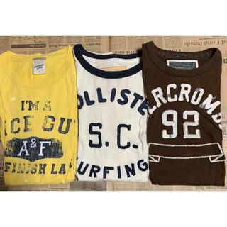 アバクロンビーアンドフィッチ(Abercrombie&Fitch)の吉次郎様専用 アバクロ ホリスター 古着 Tシャツ 12着 まとめ売り(Tシャツ/カットソー(半袖/袖なし))