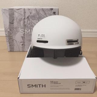 オークリー(Oakley)のスミスメイズM ヘルメット+ オークリーフライトデッキゴーグル(アクセサリー)