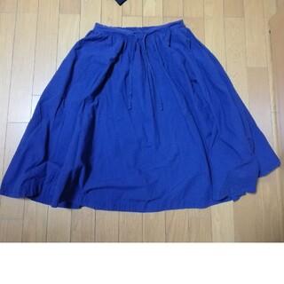 イデー(IDEE)のいろいろの服 プール pool スカート コスモスブルー idee(ひざ丈スカート)