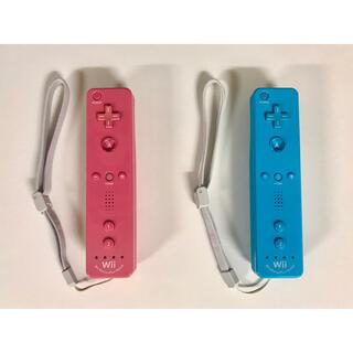 ウィー(Wii)のNintendo Land Wiiリモコンプラスセット (ブルー、ピンク)(家庭用ゲーム機本体)