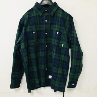 ダブルタップス(W)taps)のWTAPS19aw UNION LS / SHIRT. COTTON.TWILL(シャツ)