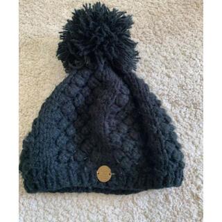 ゴートゥーハリウッド(GO TO HOLLYWOOD)のGOTOHOLLYWOOD 黒Sサイズニット帽(帽子)