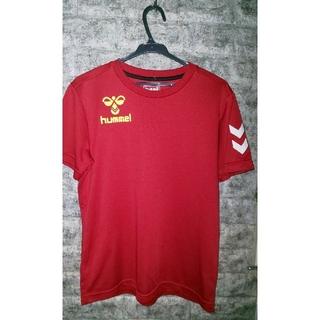 ヒュンメル(hummel)のヒュンメル赤Tシャツ(Tシャツ/カットソー(半袖/袖なし))