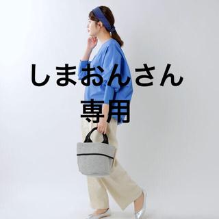 ミズイロインドmizuiroindコットンクールネックコクーンプルオーバー(シャツ/ブラウス(長袖/七分))