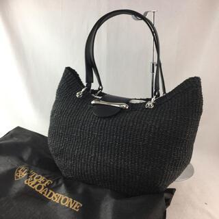 トフアンドロードストーン(TOFF&LOADSTONE)のトフアンドロードストーン かごバッグ ブラック 黒 カバン 鞄 通勤 通学(トートバッグ)