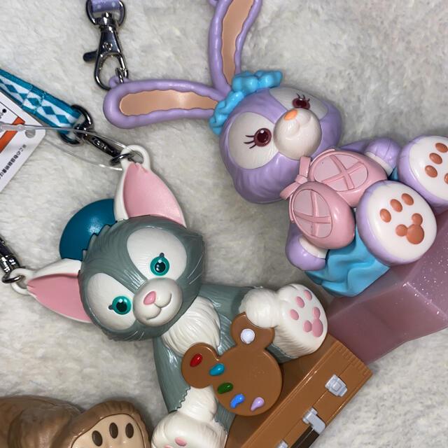 ダッフィー(ダッフィー)のディズニーシー ダッフィー シェリーメイ ジェラトーニ スーベニアセット エンタメ/ホビーのおもちゃ/ぬいぐるみ(キャラクターグッズ)の商品写真