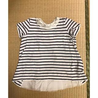 サカイラック(sacai luck)のsacailuck☆サカイラックボーダーカットソー(Tシャツ(半袖/袖なし))