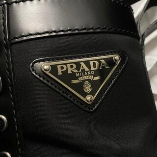 プラダ(PRADA)のPRADA コンバットブーツ 7 川上洋平氏着用(ブーツ)