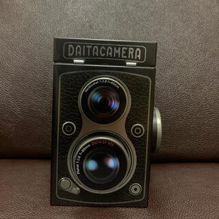 カルディ(KALDI)のカルディ レフレックスカメラ缶 チョコレート(置物)