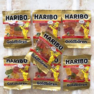コストコ(コストコ)の送料無料☆*°コストコ ハリボーグミ ミニゴールドベアー 10g×7袋 お試し!(菓子/デザート)