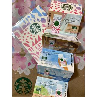 スターバックスコーヒー(Starbucks Coffee)のスターバックス ドリンクチケット 6枚(フード/ドリンク券)