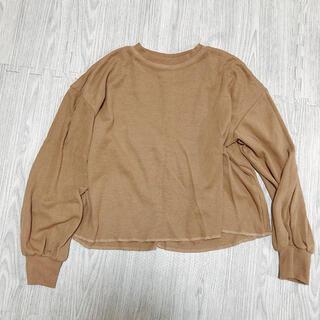 メルロー(merlot)の薄手のロンT?(Tシャツ(長袖/七分))