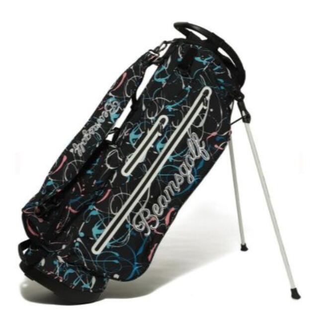 BEAMS(ビームス)のBEAMS GOLF / スプラッシュ柄 スタンド キャディバッグ スポーツ/アウトドアのゴルフ(バッグ)の商品写真