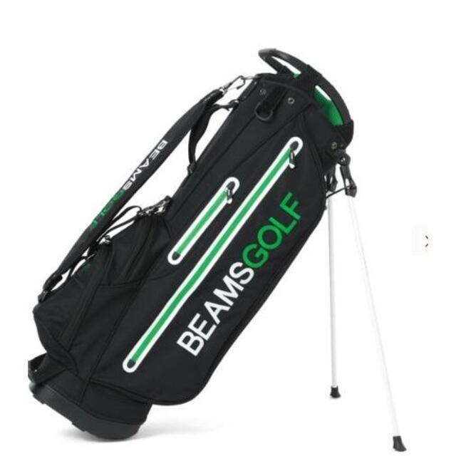 BEAMS(ビームス)のBEAMS GOLF / new スタンド キャディバッグ 3■ブラック スポーツ/アウトドアのゴルフ(バッグ)の商品写真