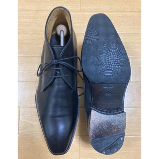 ロブス(LOBBS)のロブス LOBB'S チャッカブーツ MADE IN ITALY 革靴(ブーツ)