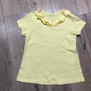 ユニクロ(UNIQLO)のフリル半袖Tシャツ 90サイズ(Tシャツ/カットソー)