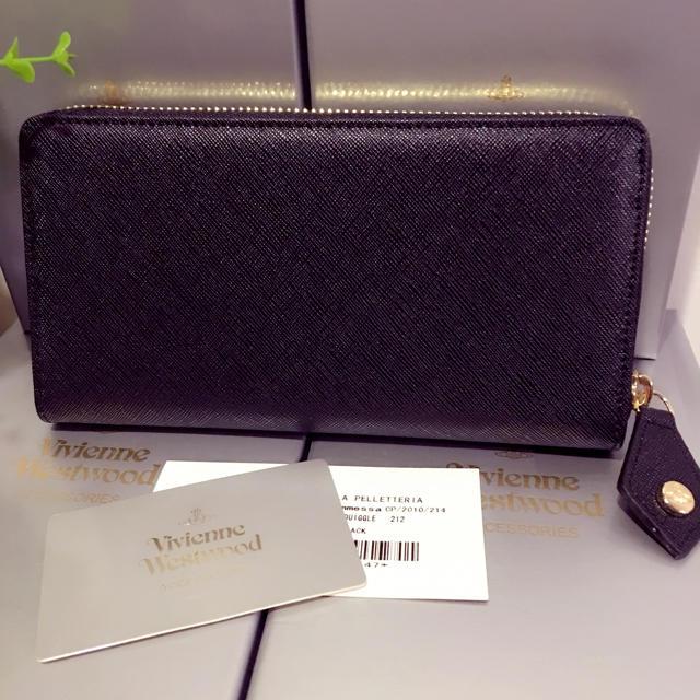 Vivienne Westwood(ヴィヴィアンウエストウッド)のヴィヴィアンウェストウッド 黒長財布 メンズのファッション小物(長財布)の商品写真