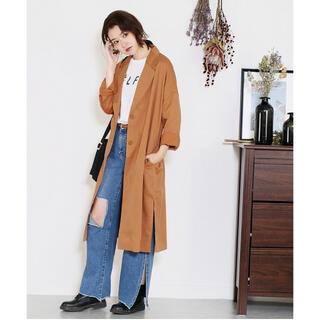 ジーユー(GU)のreca◇トレンチコート スプリングコート オーバーサイズジャケット(スプリングコート)