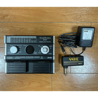コルグ(KORG)のKORG AX3G + VOX AC30(エフェクター)