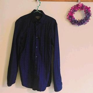 ザラ(ZARA)のZARAのブルーのシャツ(シャツ)