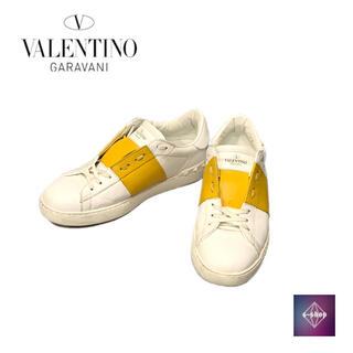 ヴァレンティノ(VALENTINO)のヴァレンティノ ヴァレンティーノ スニーカー  イエロー  25.0cm(スニーカー)