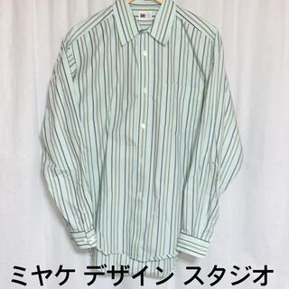 イッセイミヤケ(ISSEY MIYAKE)のMIYAKE DESIGN STUDIO イッセイミヤケ ストライプシャツ (シャツ)