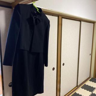 喪服 9号サイズです。 ワンピースと上着の2枚セットです。(礼服/喪服)