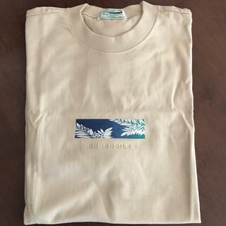 Crocodile - クロコダイル 半袖Tシャツ LL (ベージュ)