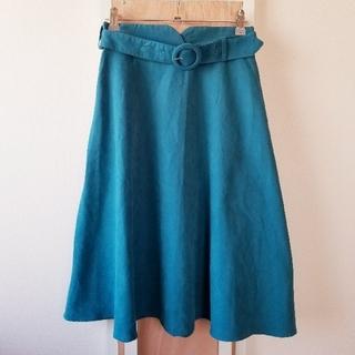 アラマンダ(allamanda)のスカート フレアスカート スエード (ひざ丈スカート)