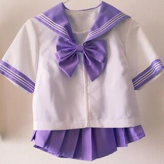 半袖セーラー服 紫(衣装一式)