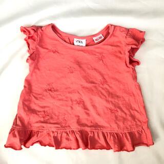 ザラ(ZARA)の【均一セール中】ZARA baby 80cm フリルTシャツ(Tシャツ)