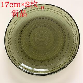 イッタラ(iittala)のイッタラ カステヘルミ プレート 17cm モスグリーン(食器)